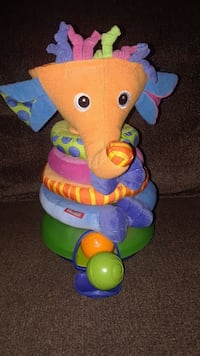 Stack and ball elephant toy.