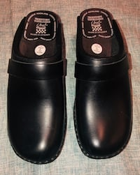pair of black leather slip on shoes Austin, 78759