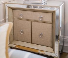 Mirror console/accent table