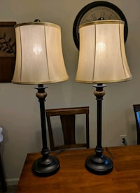 Like new pair of lamps