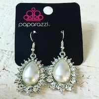 pair of silver-colored earrings Ashburn, 20148