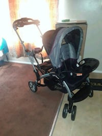 baby's black and gray tandem stroller Los Angeles, 91401