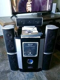 black and gray home theater system Edmonton, T5H 4E4