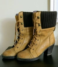 Pure leather woman's boot (size 6-7)