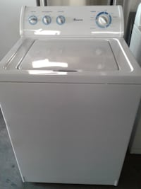 white top-load clothes washer null