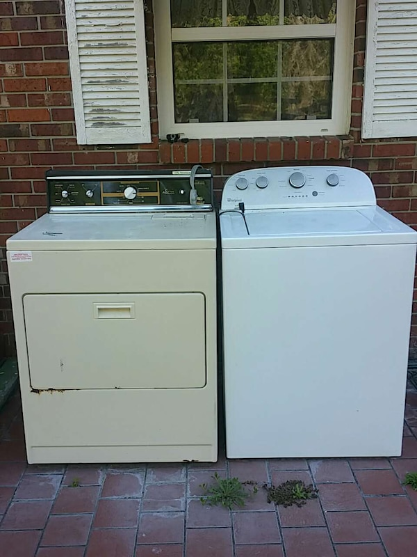 Whirlpool Washer And Lady Kenmore Dryer