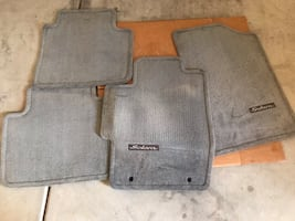 Toyota Solara gray car mats
