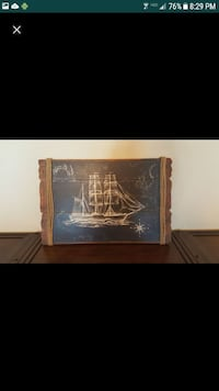 Nautical Wooden Painting  2218 mi