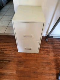 Vertical File Cabinet with key , 2 Drawer, Tan Charlotte, 28205