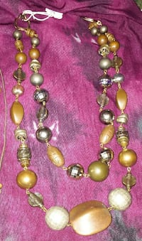 brown beaded necklace Spartanburg, 29306