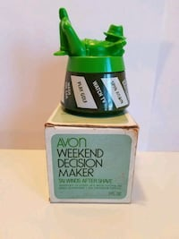 AVON Wkend Decision Maker Tai Winds Aftershave  Dover