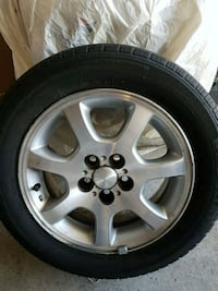 "Set of 4 tires / 15"" P195/R60  - 100 $$ Brampton"
