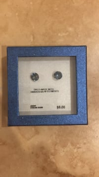 Light blue earrings unopened Burlington, L7L 4R9