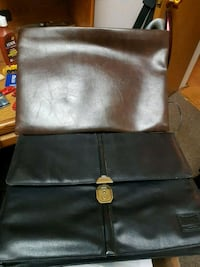 black leather padded rolling chair Toronto
