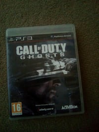 Call of duty Ghost PS3 game case Dugny, 93440