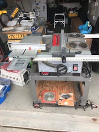 White and black table saw Brentwood, 94513