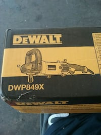 DEWALT RIGHT ANGLE VARIABLE SPEED POLISHER Culpeper, 22701
