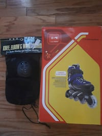 Condor Inline Skates with Knee and Elbow Pads Sterling, 20164