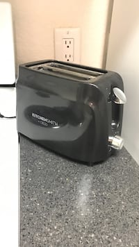 black kitchensmithc two slice bread toaster Oakland, 94602
