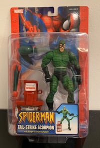 Very Rare - Collectible - Scorpion Action Figure