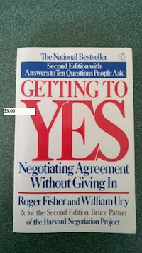 Getting to yes book Timberlea, B3T 1G6