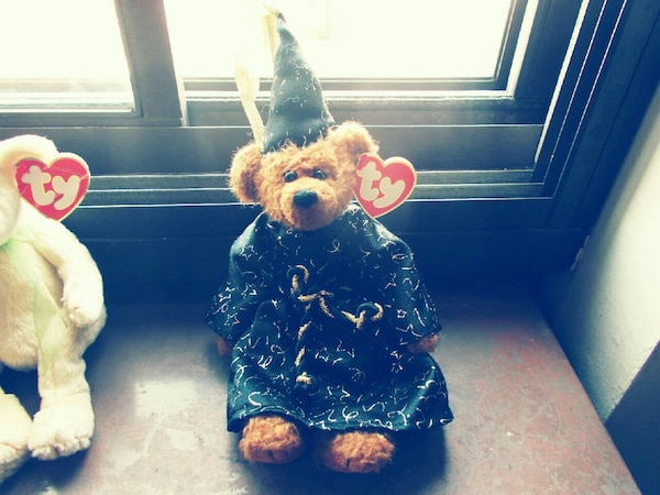 Used wizard bear TY Beanie baby for sale in Fall River - letgo a1f698b6843e