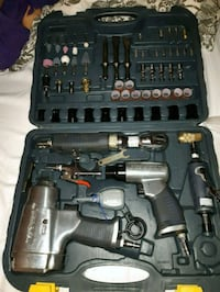 black and gray cordless power drill set 795 km