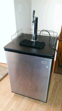 black and gray compact refrigerator Germantown, 20874