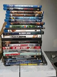assorted DVD movie case lot New Orleans, 70113
