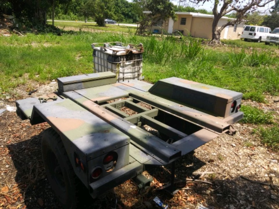 Photo Heavy Duty Army Trailer for sale or trade
