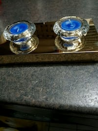 NEW, Diamond Tea Light Set Decor London, N6K 2X6