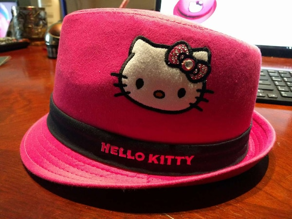 41f9f6e6d34da Used Girls Hello Kitty Pink Fedora with Sequin Band - for sale in ...
