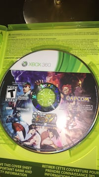 Xbox 360 Saints Row game disc Washington, 20011