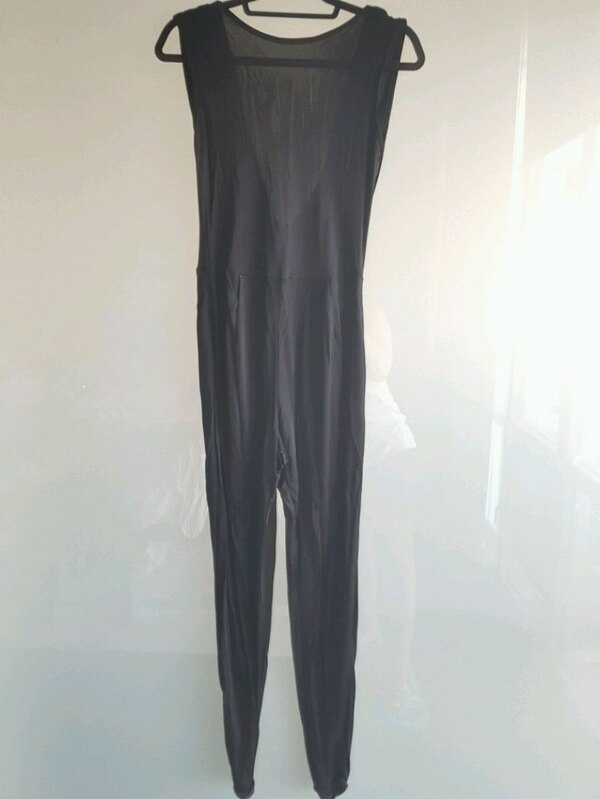 BRAND NEW with tags ASOS cowl back black jumpsuit 1cc08023-66b3-451e-8554-a0e7be4c1985