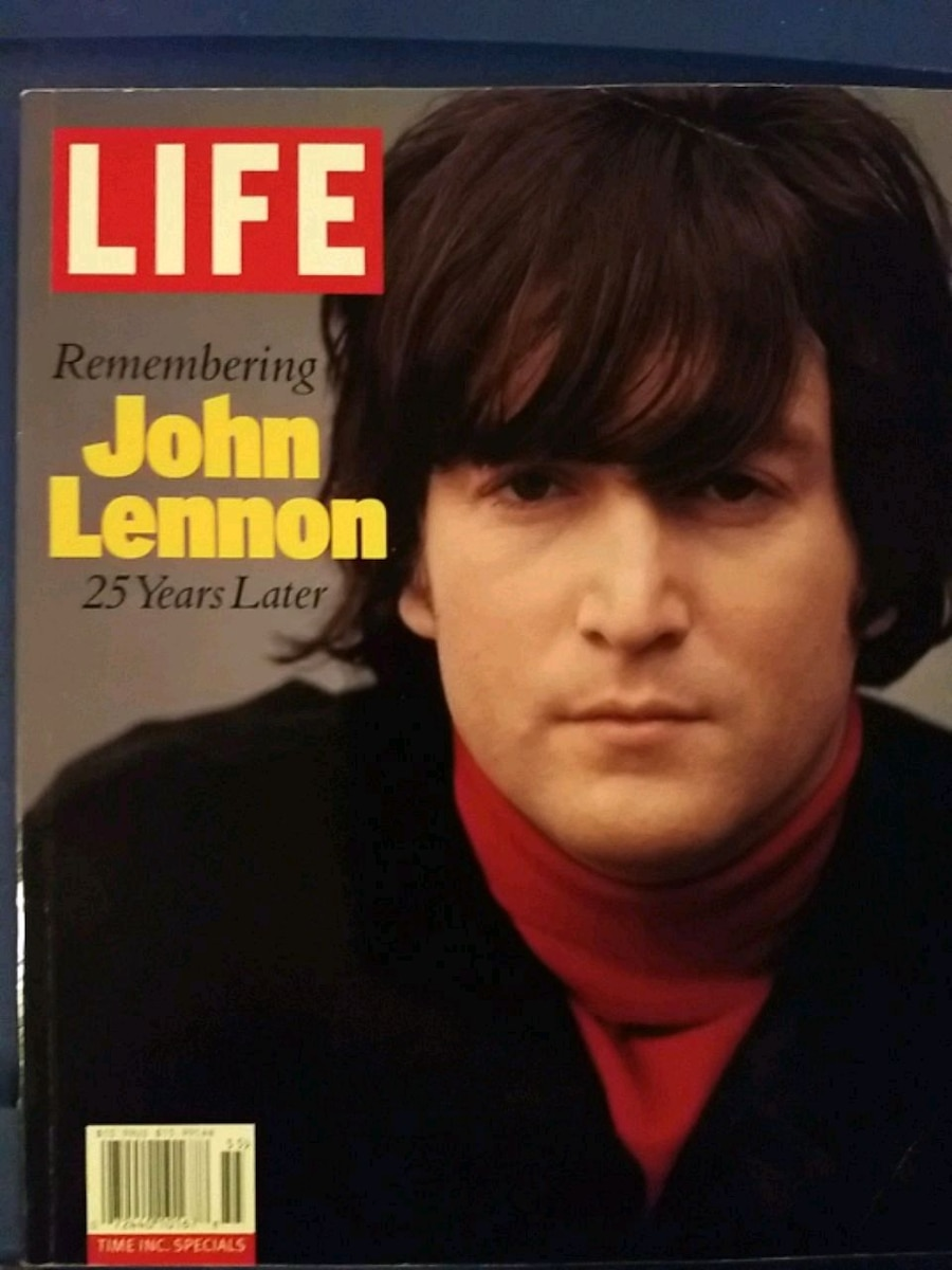 Photo LIFE John Lennon 25 years later