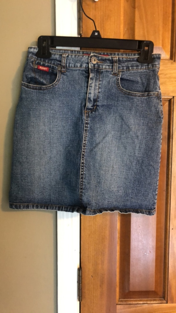 2ba972adbf Used girls guess jean skirt size 16 for sale in Fort Wayne - letgo