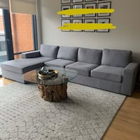 1 Month Old Reversible Sectional Sofa