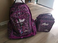 Roots backpack & lunch bag London, N5Z 4Z1