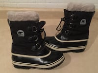 Youth Size 5 Sorel Waterproof Yoot Pac Insulated Winter Boots London