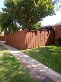 FENCES!!!  Repair, Pressure washing, Stain & Paint  *Contact Us