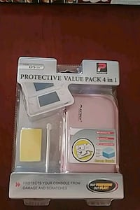 Nintendo DS case protector pack 4 in 1