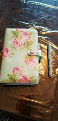 Mint floral websters pages agenda /planner  Toronto, M3C 1A9