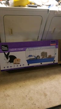 Hamster or rabbit cage