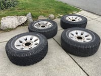 BF Goodrich All Terrain T/A with rims LT275/70/R18 Vancouver, V5R 5P2