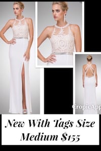 New With Tags Size Medium Gown $155 Indianapolis
