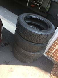 Car tires (4) 20$ each Leesburg, 20176