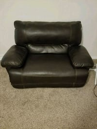 black leather recliner sofa chair Winter Haven, 33884