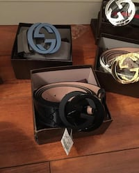 Multiple Gucci belts Sterling Heights, 48311