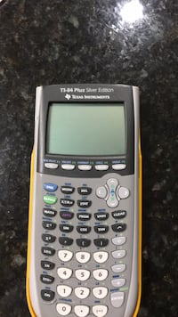 white Texas Instruments TI-84 Plus Kensington, 20895