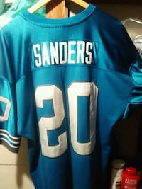 blue and white and blue NFL jersey Los Angeles, 90032